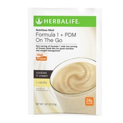Formula 1 Plus PDM Herbalife Nutritional Vanilla Shake