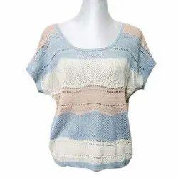 Ladies Woolen Top, Size: Medium