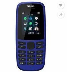 Bar Blue Nokia 105 Mobile Phones