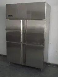 4 Door Vertical Commercial Refrigerator, Capacity: 1200 L