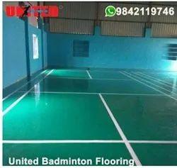 Non Vision Badminton Flooring