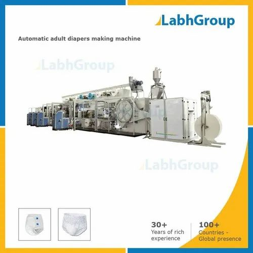 Disposable Non-Woven Adult Diapers Making Machine