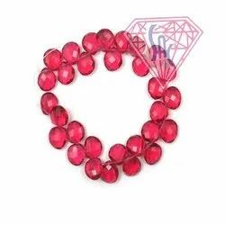Red Garnet Gemstone Beads Handmade Beaded Strands