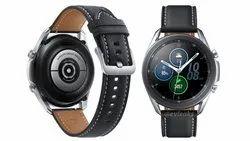 Black Silicone Samsung Galaxy Watch 3, Light