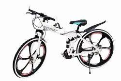 White Bmw X6 Foldable Cycle
