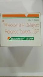 Mesacol 800mg  Tablet DR ( Mesalamine Tablet)