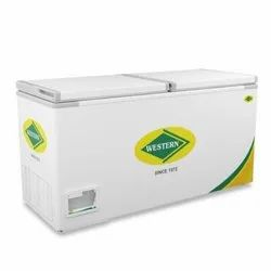 Western 525 L Deep Freezer, Product Dimensions: 1606 X 695 X 840 Mm, Refrigerant Used: R134A