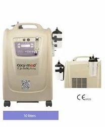 Oxymed Oxygen Concentrator Home Oxygen  10 Ltrs. Dual Flow