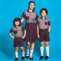 Cotton Children Summer School Uniform