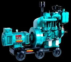 Double Cylinder Air Cooled Generator