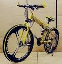 Golden Mercedes Benz 3s Foldable Cycle