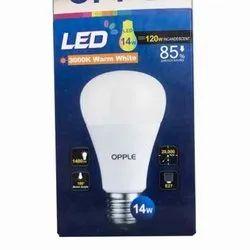 Ceramic Warm White 14 W Opple LED Bulb, Under 10V