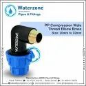 Compression Male Threaded Elbow