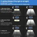COB LED Solar Sensor Light - ML 148
