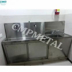 Stainless Steel Surgical Scrub Sink