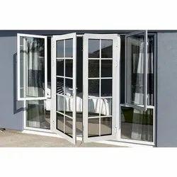 Powder Coated Aluminum Casement Door
