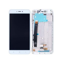 White LCD with Touch Screen for Xiaomi Redmi Note 5A Gold ( combo folder)