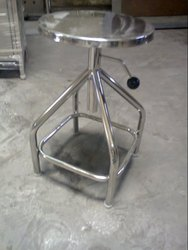 Stainless Steel Revolving Stool