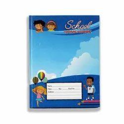 Bingo Blue 405 Hard Bound School Notebook, Size: 24.2x18 Cm