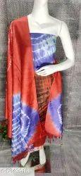 HALIM Katan & Cotton Bandhani Dress Material