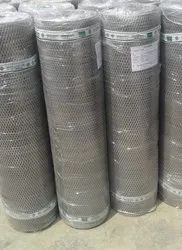 Iron Galvanization Galvanized Expanded Metal Mesh, For Industrial, Packaging Type: Roll
