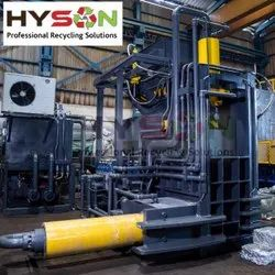 Hydraulic Continuous Baling Press Machine