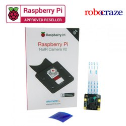 Raspberry Pi Infrared RPi NoIR Camera Module V2 - Supports Night Vision - Robocraze