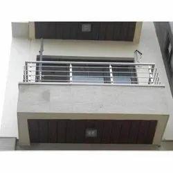 Plain Stainless Steel Balcony Railing