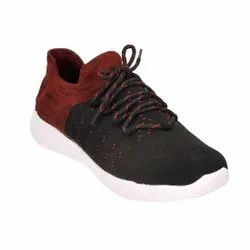 Leerooy Maroon Lightweight, Breathable, Walking & Running, Casual Shoes For Unisex Spshoe102maroon