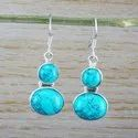 925 Sterling Silver Earring Labradorite Gemstone Earring