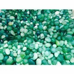 Dark Green Onyx Pebbles