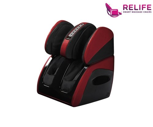 Relife Delux Leg, Foot & Thigh Massager Color Red