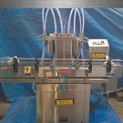 Volumetric Electric 4 Nozzle Liquid Filler, Size/Dimension: 2000 Mm X 900 Mm X 1500 Mm, Model Name/Number: LF-1000