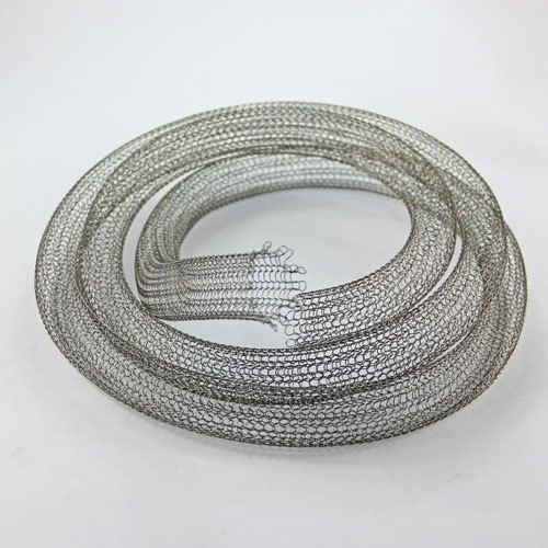 Stainless Steel Knitted Mesh Tube / Pipe