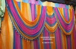 Lycra Tent Backdrop Galaxy Mandap Embroidered Parda