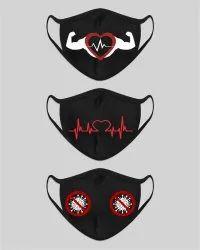 Digital Print Face Mask Printing Service, Location: Pan India