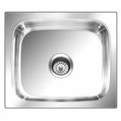 Single Glossy Nirali Kitchen Sink, Size: 18 X 16 Inch