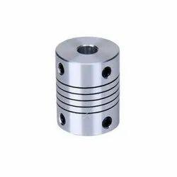 Anodized Aluminum Coupling, Shape: Round