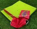 Rajashree Sarees Light Green Soft Silk Saree D-4844, Saree Length: 6 M (with Blouse Piece)