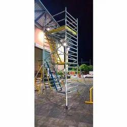 10 Feet Aluminium Scaffolding Movable Ladder
