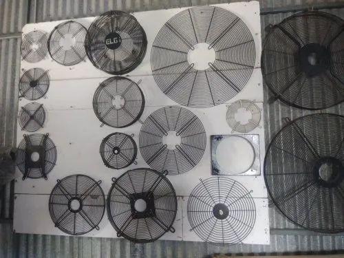 Mild Steel Fan Guards Size: 200mm To 1200mm Dia