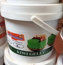 Gel Green Kiwi Jelly, Packaging Type: Plastic Jar, Packaging Size: 4 Kg