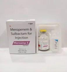 Meropenem 1000mg & Sulbactam 500mg For Injection