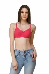 Anoma Women's/Girls Full Coverage Seamless Cup Non-Wired Adjustable Soft Cotton Padded Bra For Women