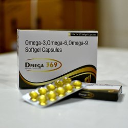 Omega 3,omega 6,omega-9 Softgel Capsule