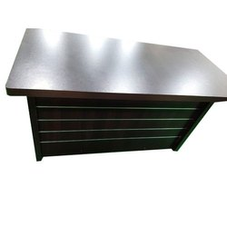 Wooden Reception Table, For Office