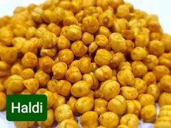 Solid Namkeen Haldi Chana, Packaging Type: Packet