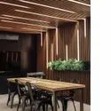 Fluted Wall Mounted Louvre Panels