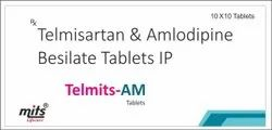 Telmisartan and Amlodipine Besilate Tablets