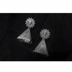 Fancy Oxidized Earrings